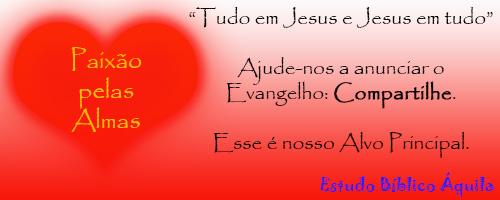 Banner Amor pelas almas